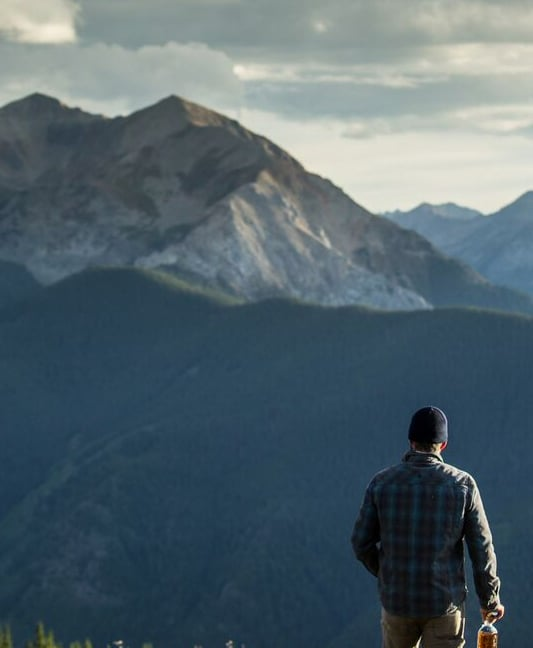 Hiking Mountain View